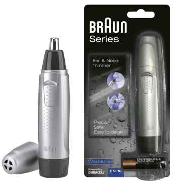 Braun ear nose