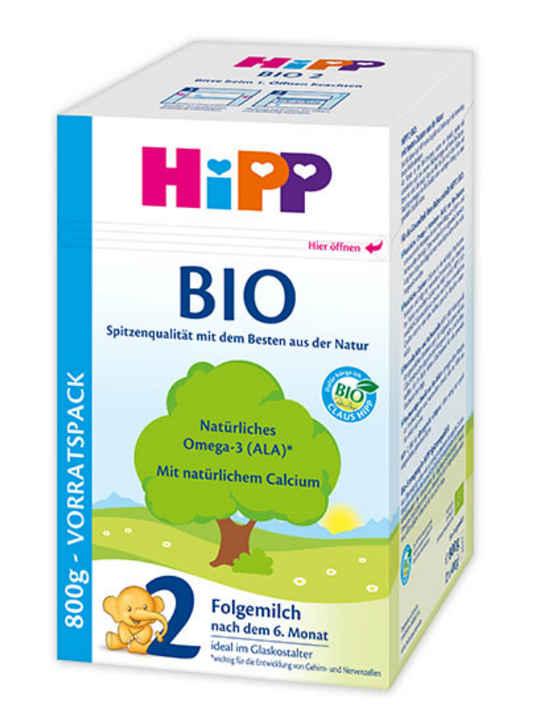 Hipp bio 2 folgemilch ab 6 m