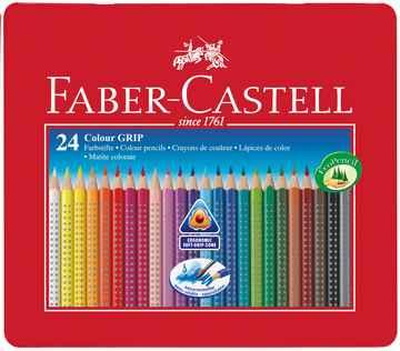 Farbstift Faber-Castell Color-Grip 2001 12er