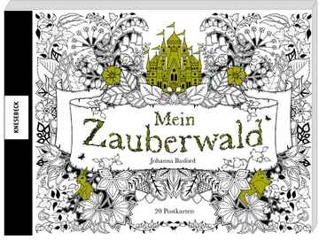 Mein zauberwald postcard booklet