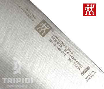 Zwilling pro chinese chefs knife detail