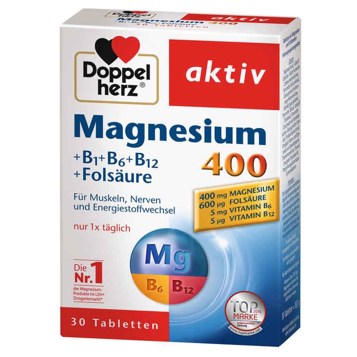 Doppelherz magnesium 400