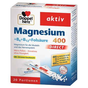 Doppelherz magnesium 400 direct