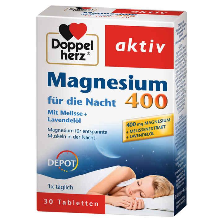 Doppelherz magnesium 400 f%c3%bcr die nacht