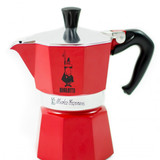 Bialetti moka express rot  espressokocher 3 tassen tripidi