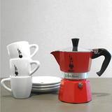 Bialetti moka express rot  espressokocher 3 tassen tripidi2
