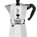 Bialetti moka express silber  espressokocher 6 tassen tripidi