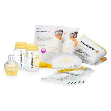 Medela collecting breastfeeding starter kit complete