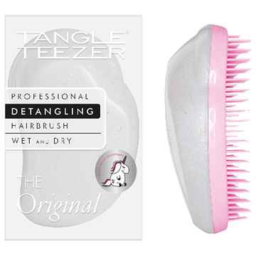 Tangle teezer the original unicorn mit stickerbogen