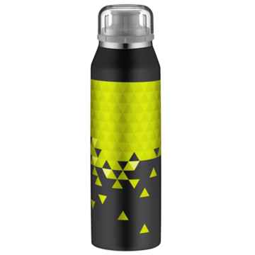 Alfi insulated bottle isobottle black lime 0 5l