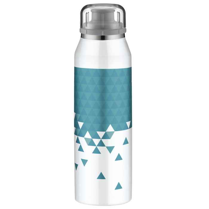 Alfi insulated bottle isobottle style white ocean 0 5l