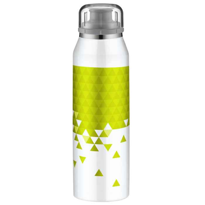 Alfi insulated bottle isobottle style white lime 0 5l
