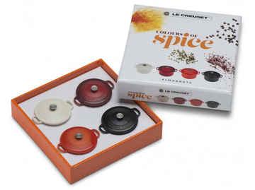 4er magnet set spices le creuset   kopie