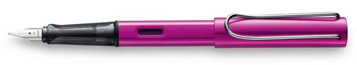 Vibrant pink fountain pen
