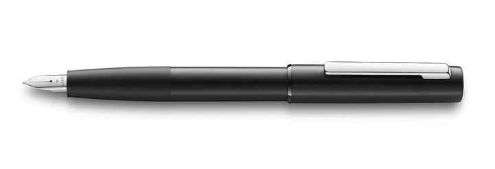077 lamy aion black fountain pen