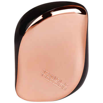 Compact styler black rose gold front view