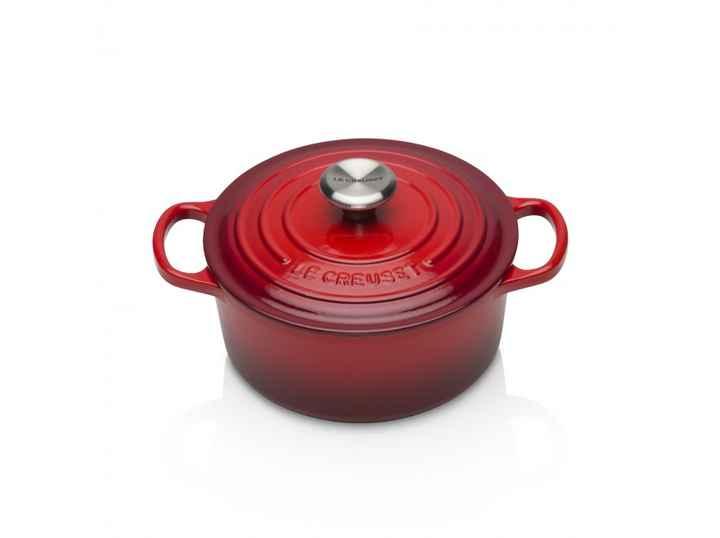 Cerise signature cast iron 18cm round casserole