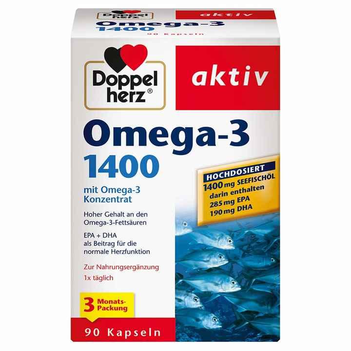 Tripidi doppelherz omega 1400 90 kapsel