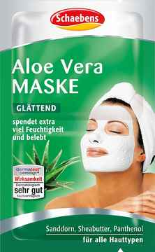 Schaebens aloe vera maske 10ml