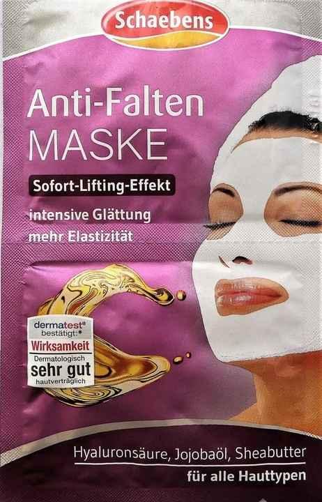 Schaebens anti falten maske