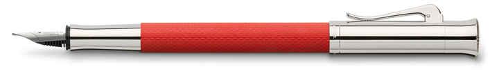 145292 fountain pen guilloche india red extra fine office 39181