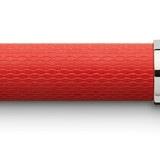 145291 fountain pen guilloche india red fine office 39180