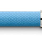 145282 fountain pen guilloche gulf blue extra fine office 39164