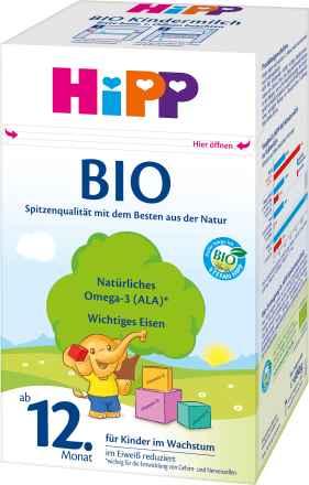 Hipp bio kindermilch ab 12 monat