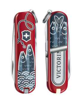 Victorinox classic limited edition 2019 food of the world sardine 3153994j5lcmhvfescul